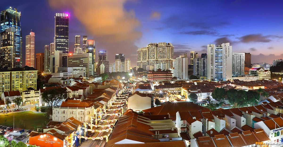 Квартал Чайна-таун в Сингапуре