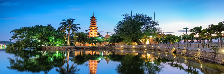 Tran Quoc Pagoda - Другой Ханой