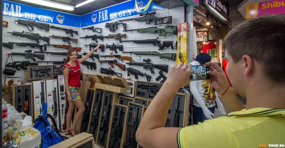 Оружейная лавка в Бангкоке