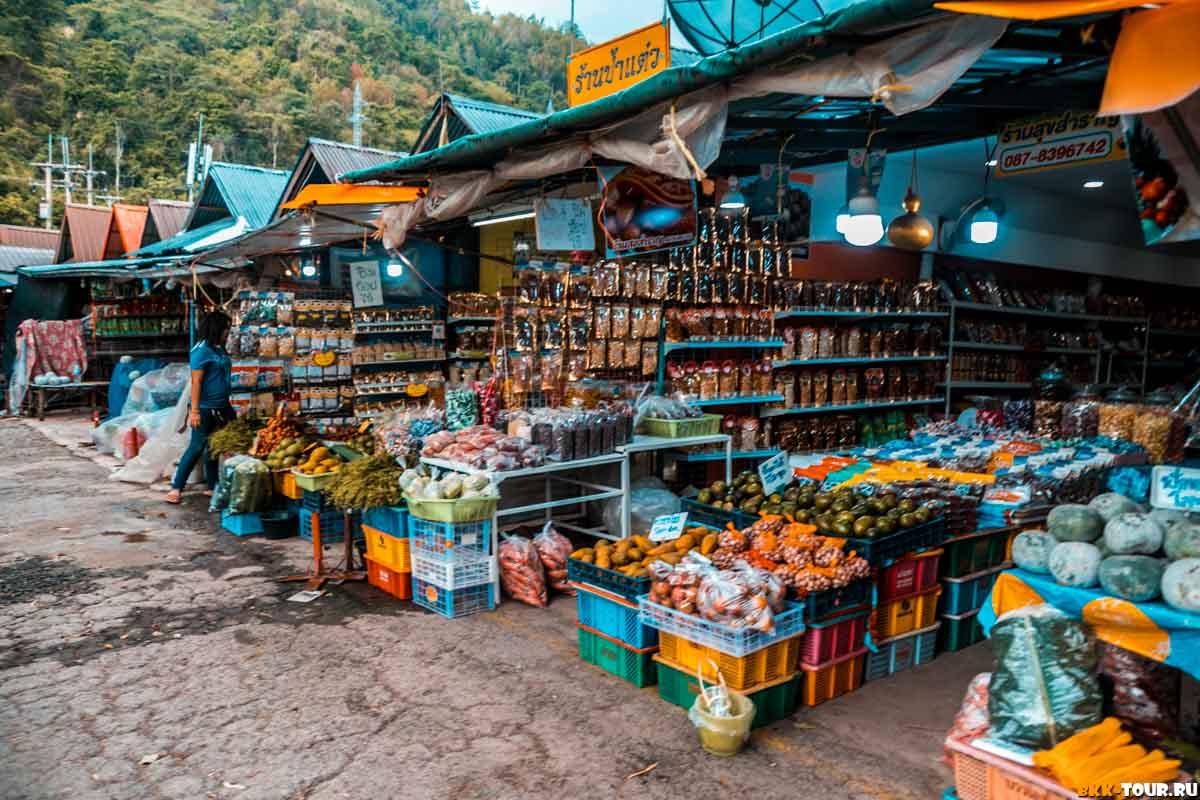 Рынок в провинции Пхетчабун