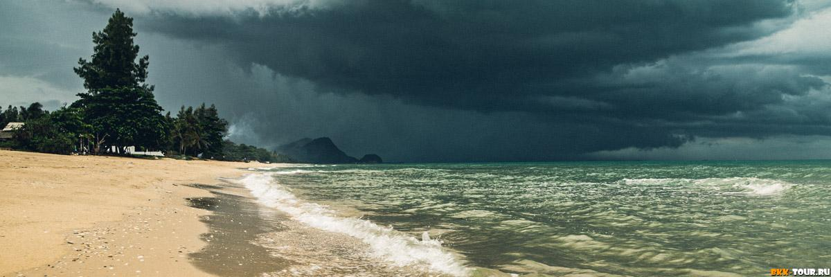 Море в Накхон Си Тхаммарат