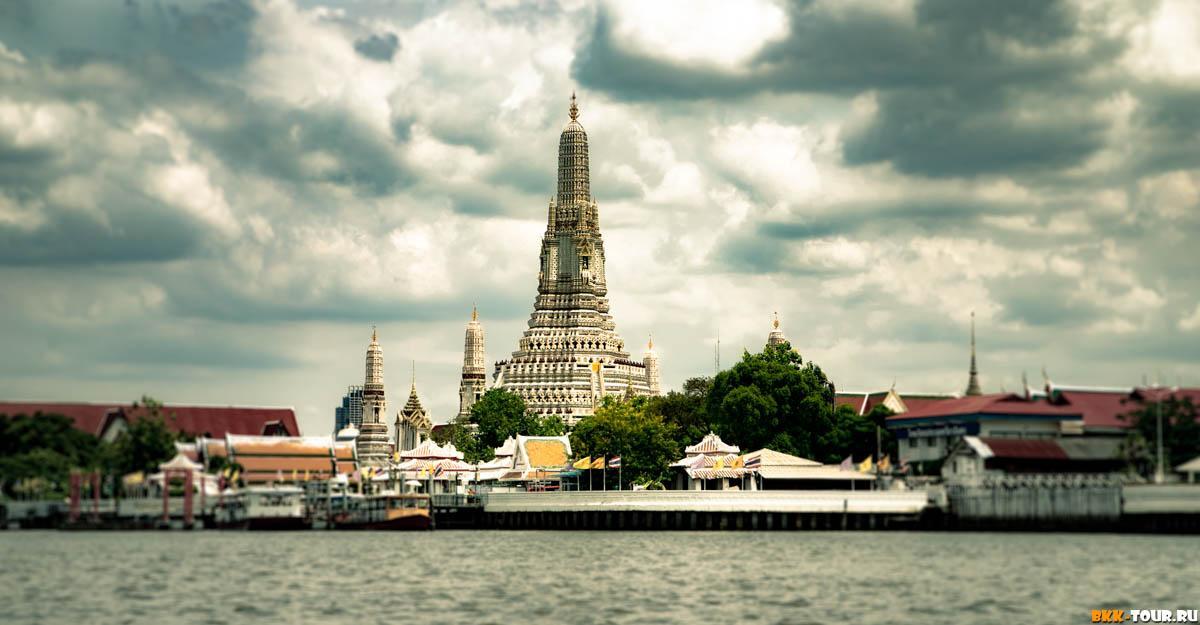 Храм утренней зари в Бангкоке Wat Arun