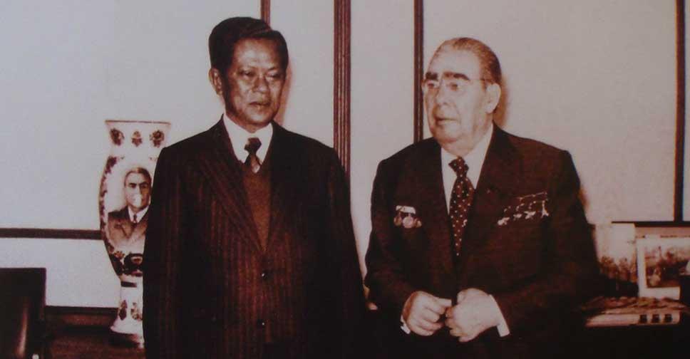 Визит премьер-министра Таиланда Криенгсака Чаманан в СССР, 1979 г.