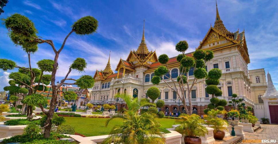 Большой Королевский дворец в Бангкоке (The Grand Palace)