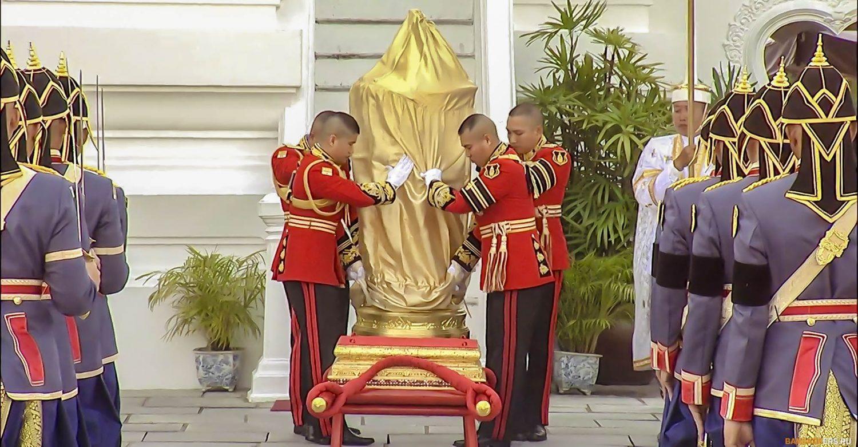 Церемония кремации короля Рамы IX. Бангкок. Таиланд. 26 октября 2017 г.