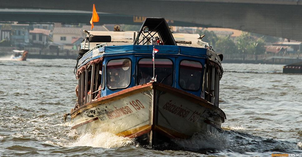 Речной трамвайчик по реке Чаопхрайя