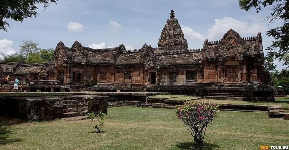 Пханом Рунг — исторический парк в провинции Бурирам, Исан.
