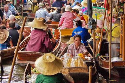 Город Ампхава (Amphawa Floating Market)