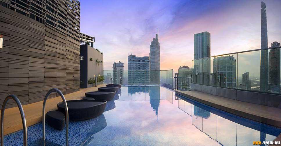 Лучшие отели с бассейном в Хошимине