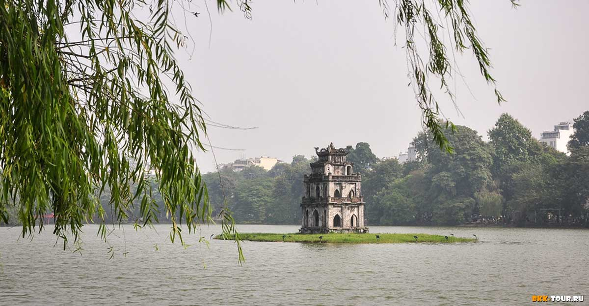 Храм черепахи в Ханое